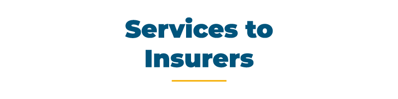 Services to Insurers